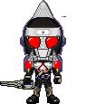 Kamen Rider Kurokage Blade Arms by LiasDan