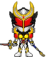 Kamen Rider Zangetsu Shin Agito Arms by LiasDan