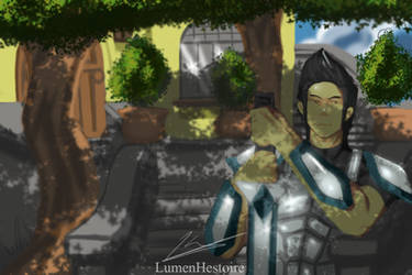 Crusader's Quest by LumenHestoire