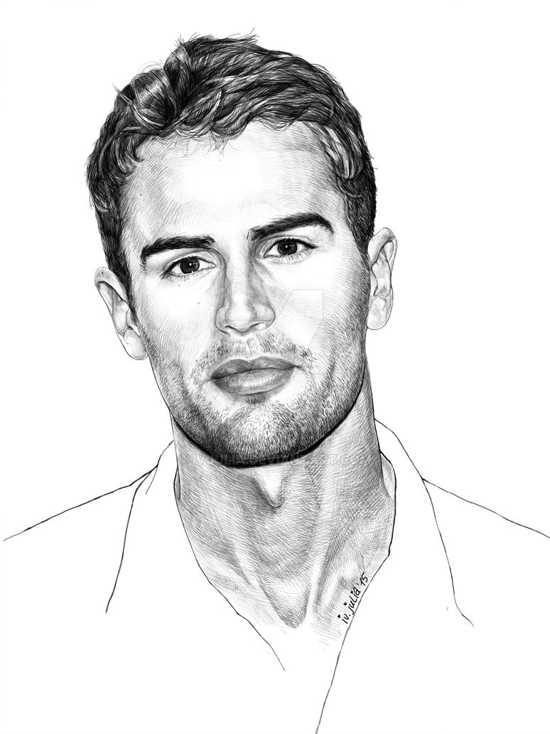 Theo James. Four/Tobias in Divergent/Insurgent by IvJulia ...