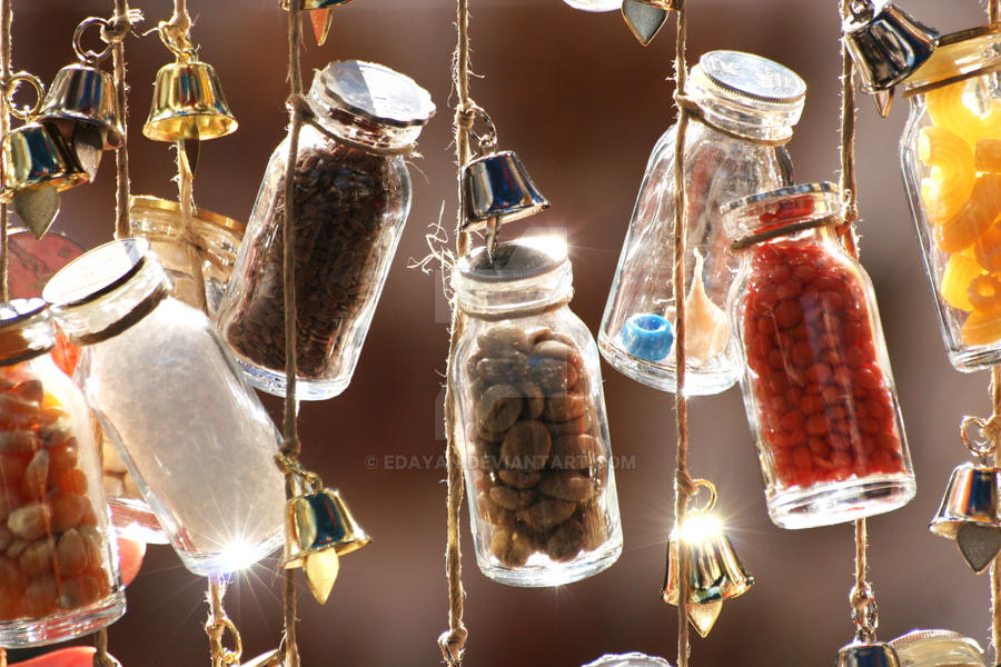 Decorative bottles by edayan