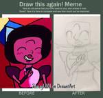 Draw this Again! Meme by SleepyStaceyArt