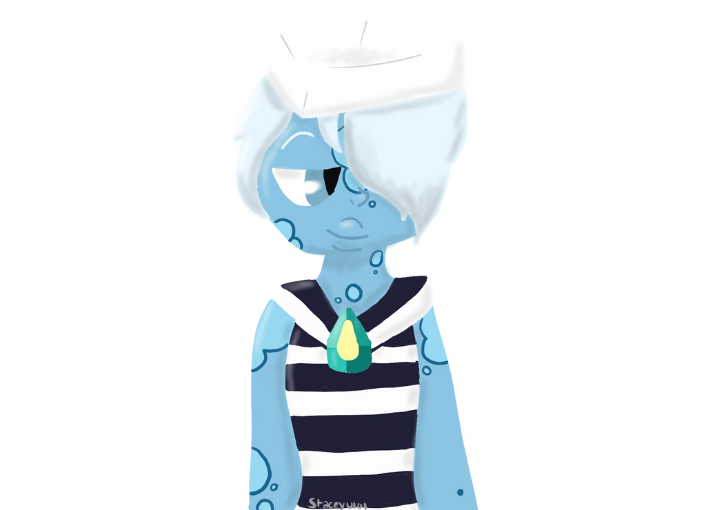 Ocean Jasper Lineless Commission by SleepyStaceyArt