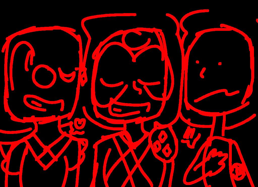 Last drawing before b day (Ruby Squad wip) by SleepyStaceyArt