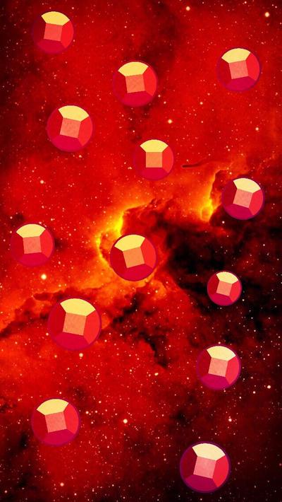 F2U Ruby Background  by SleepyStaceyArt
