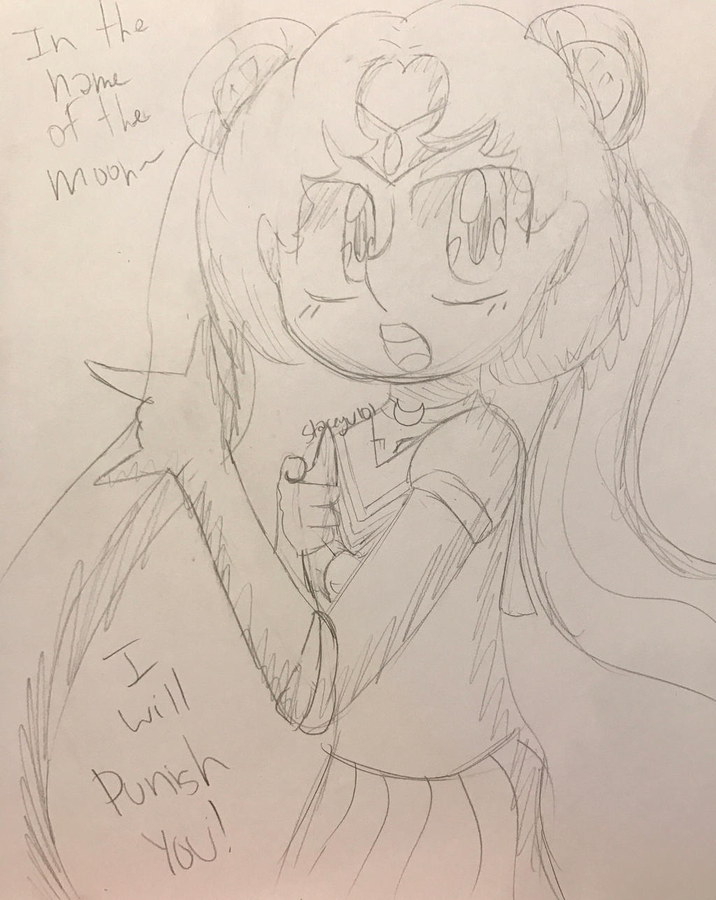 .:In the name of the moon~ I will punish you!:. by SleepyStaceyArt