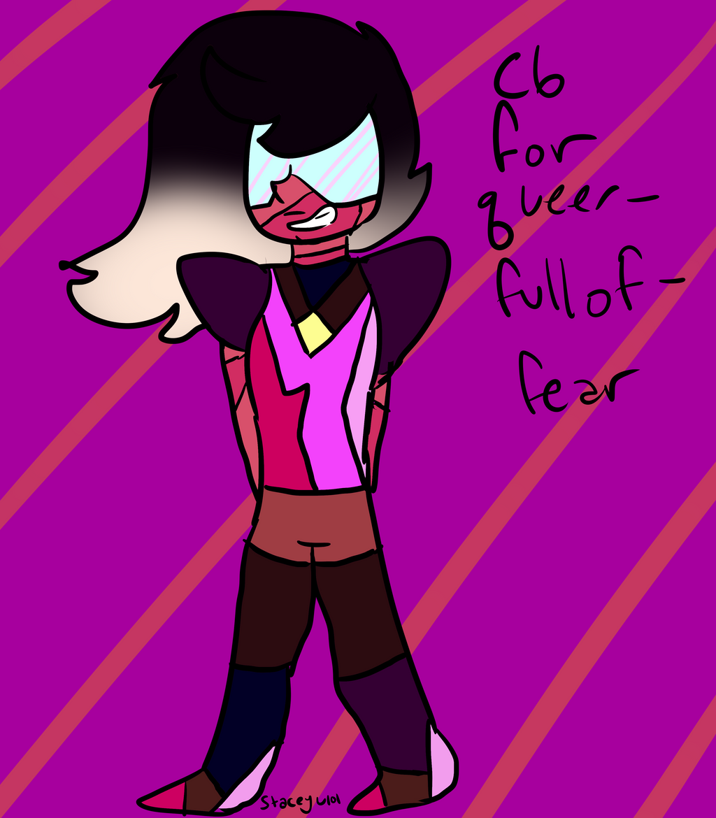 .:C6 Gem Custom for queer-fullof-fear:. by SleepyStaceyArt