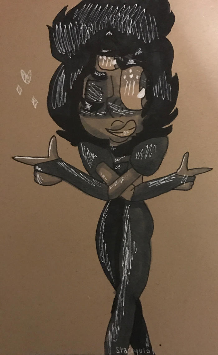 .:Finger Gun Garnet:. by SleepyStaceyArt