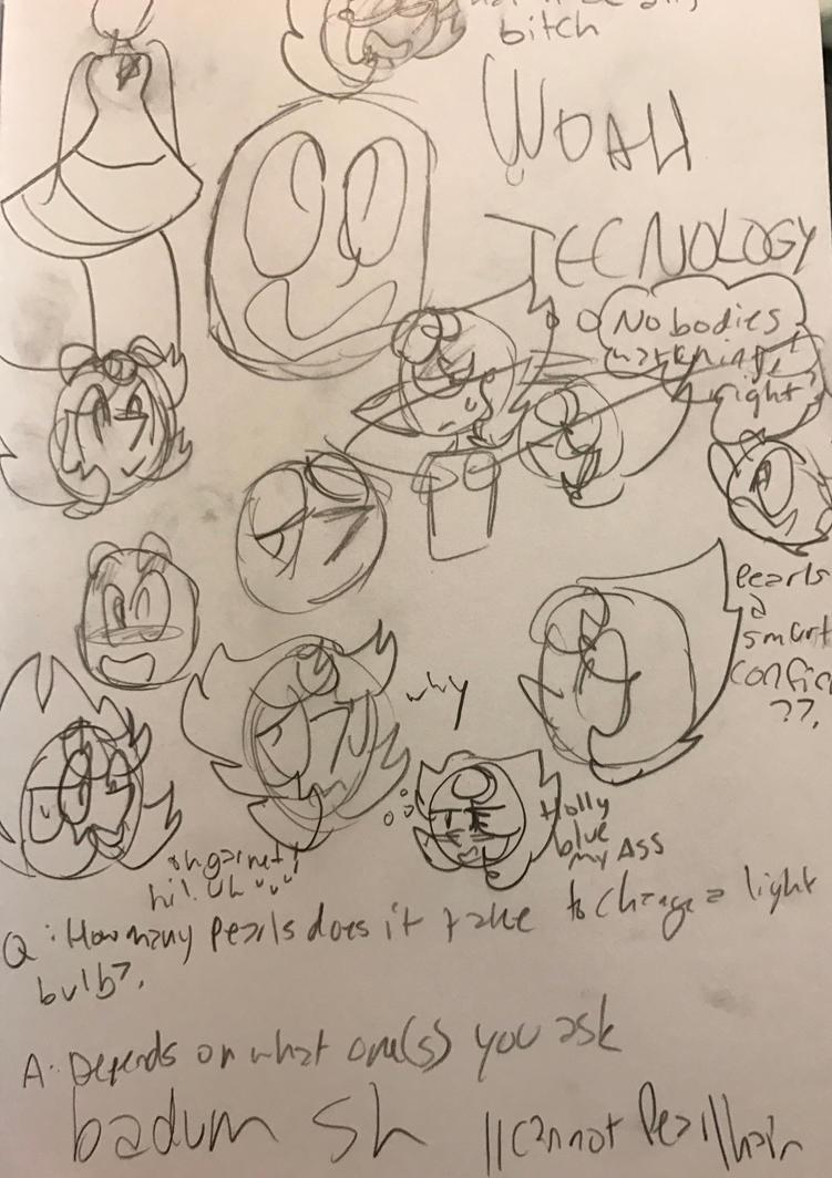 .:Warm-Up Doodle Page 2.0:. by SleepyStaceyArt