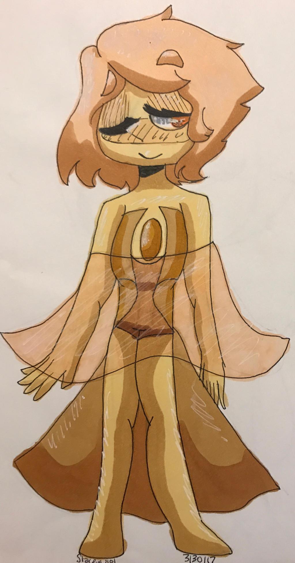 .:Golden Pearl Oc Drawing:. by SleepyStaceyArt