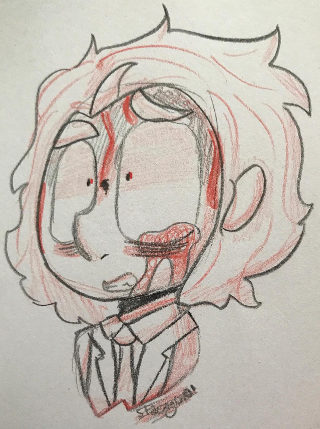 .:Shaded Headshot for RlDDLER:. by SleepyStaceyArt