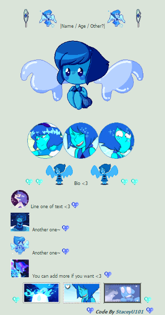 .:Ftu Non-Core Lapis Lazuli Code Box:. by SleepyStaceyArt