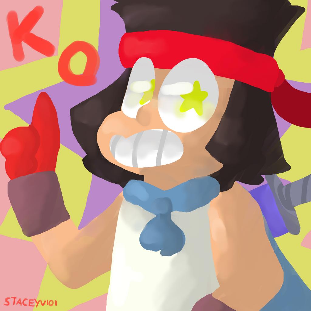 OK KO LET'S BE HEROS - Hero in training by SleepyStaceyArt