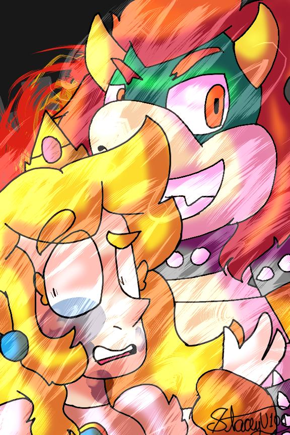 .:Help me Mario!:. by SleepyStaceyArt