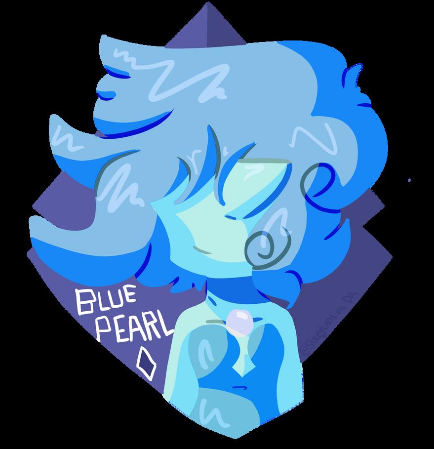 .:Blue Pearl Badge for Comic Con:. by SleepyStaceyArt