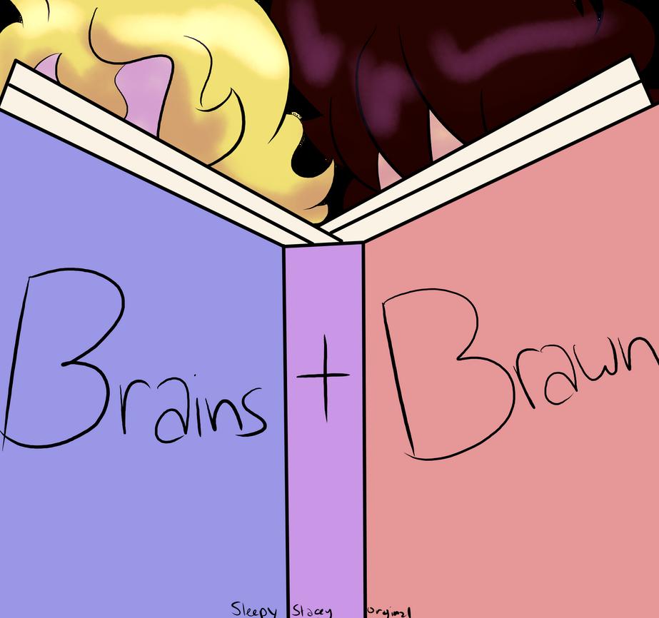 Brains and Brawn - Original Comic Teaser by SleepyStaceyArt