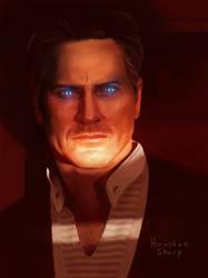 The Illusive Man by HoustonSharp