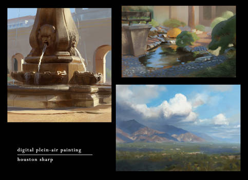 Digital Plein-Air Painting - Collection 1