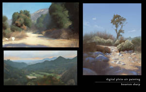 Digital Plein-Air Painting - Collection 2