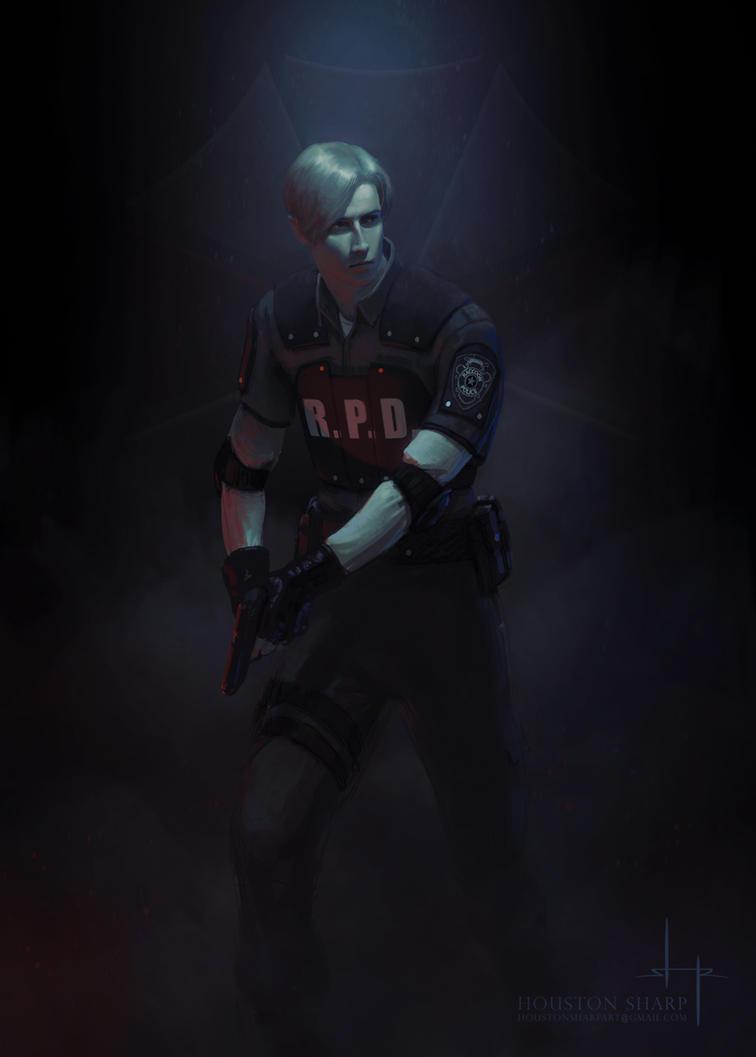 Leon - Resident Evil 2 Remake by HoustonSharp