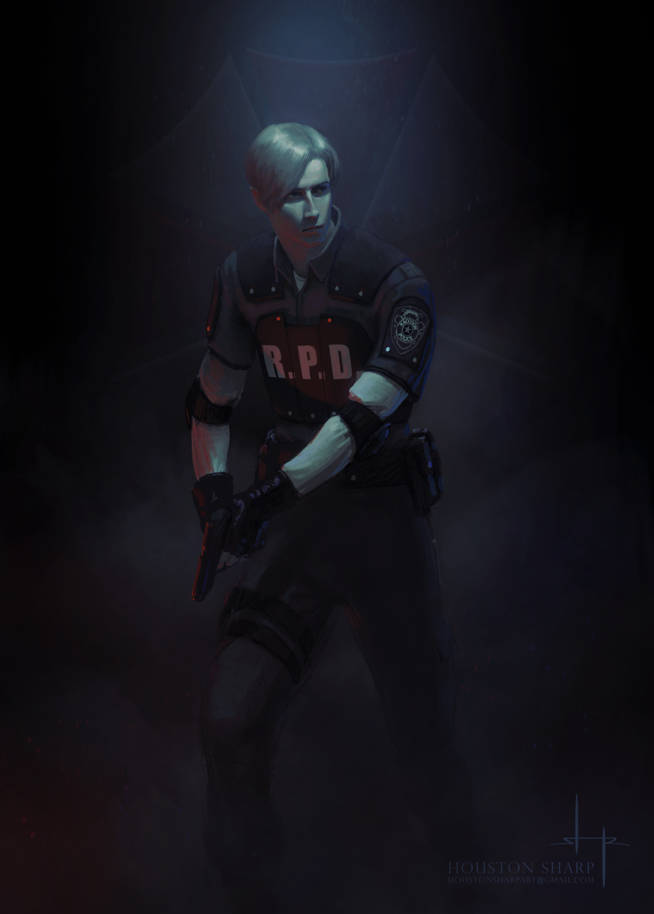 Leon Resident Evil 2 Remake By Houstonsharp On Deviantart
