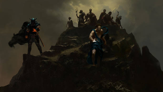 Wonder Woman - Gods Atop Olympus - Panel 2
