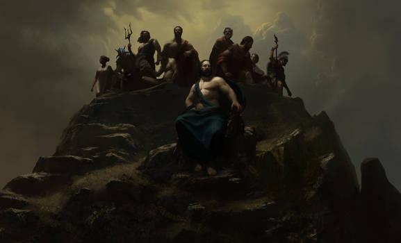 Wonder Woman - Gods Atop Olympus - Panel 1