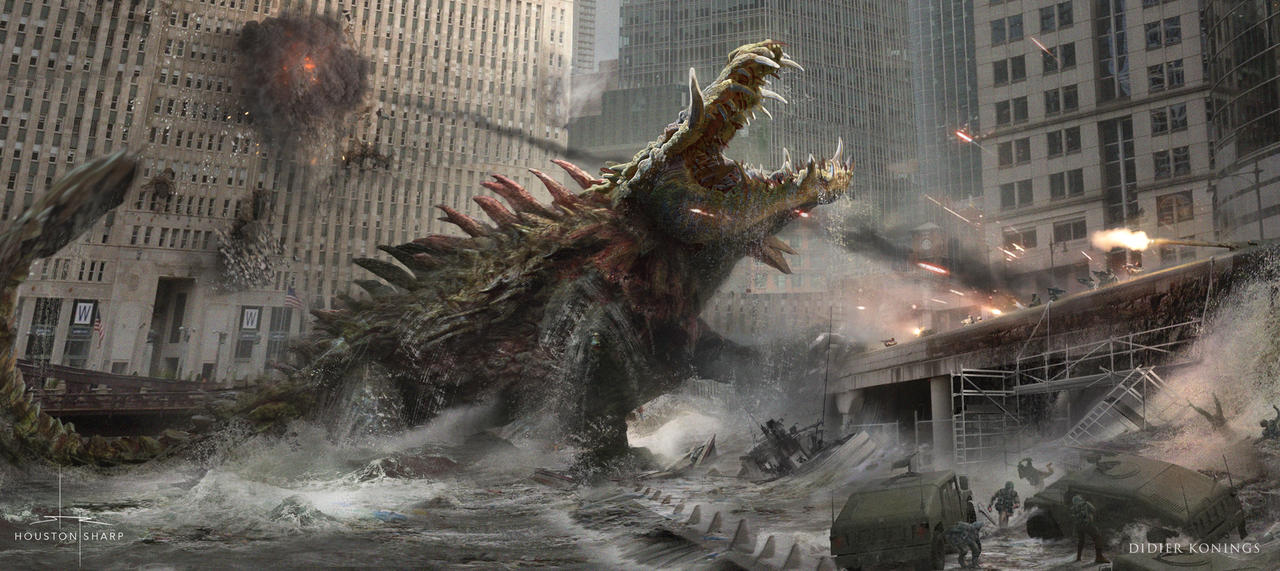 RAMPAGE - Croc Emerges by HoustonSharp