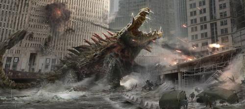 RAMPAGE - Croc Emerges