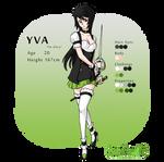 character profile sheet Yva
