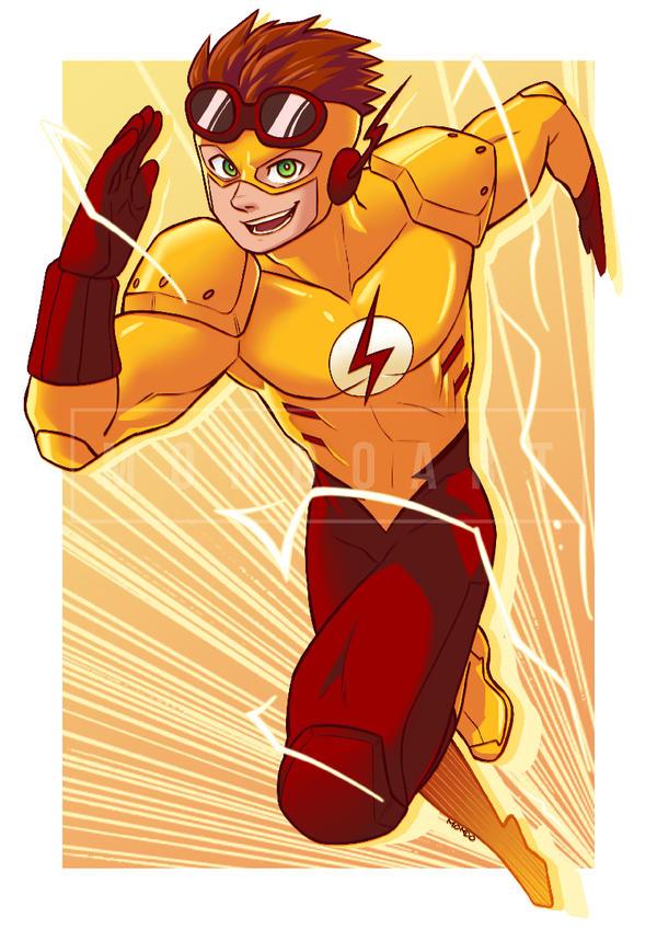 Commission - Kid Flash by MondoArt on DeviantArt
