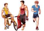 Commission set - Sports