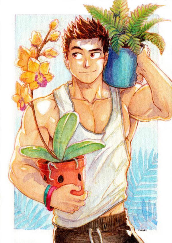 WWM 2018 - Plant Lover by MondoArt