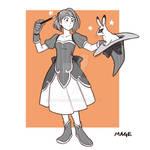 RPGtober day 02 - Mage