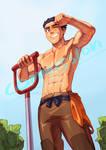Commission - farmer Sano