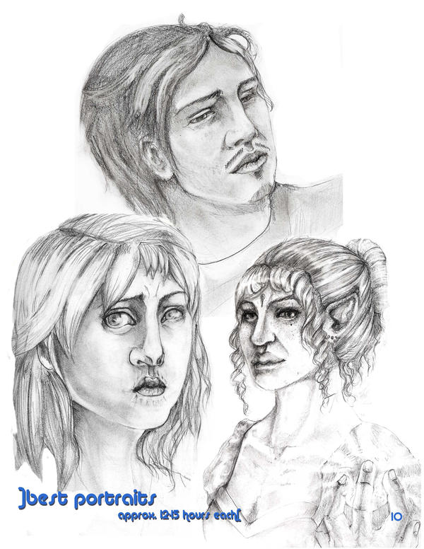 Drawing Bootcamp: Faces by ezranay