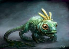 Fish Thing by kinkajoomotion