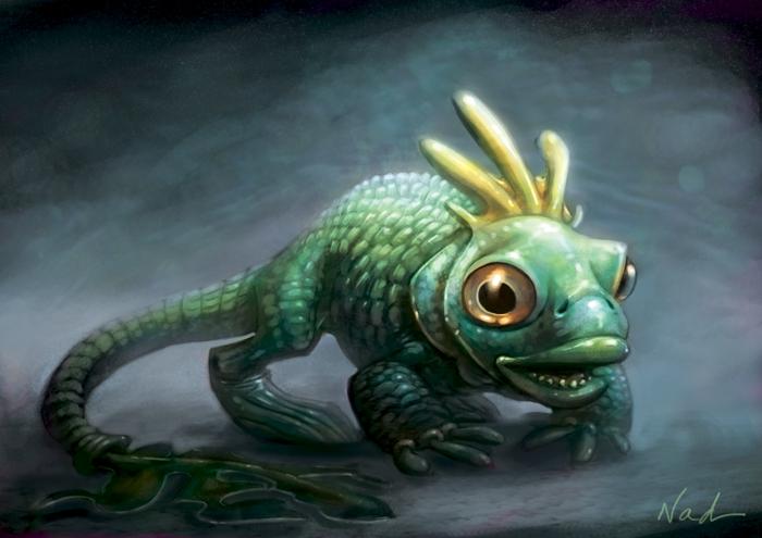 Bestiaire Fish_thing_by_kinkajoomotion-d58xgza