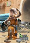 Mechanic by kinkajoomotion