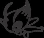 Lineart of Celebi