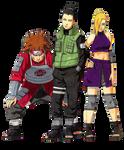 The Team 10 of Konoha