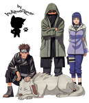 Team 8 of Konoha