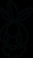 Lineart of Petilil