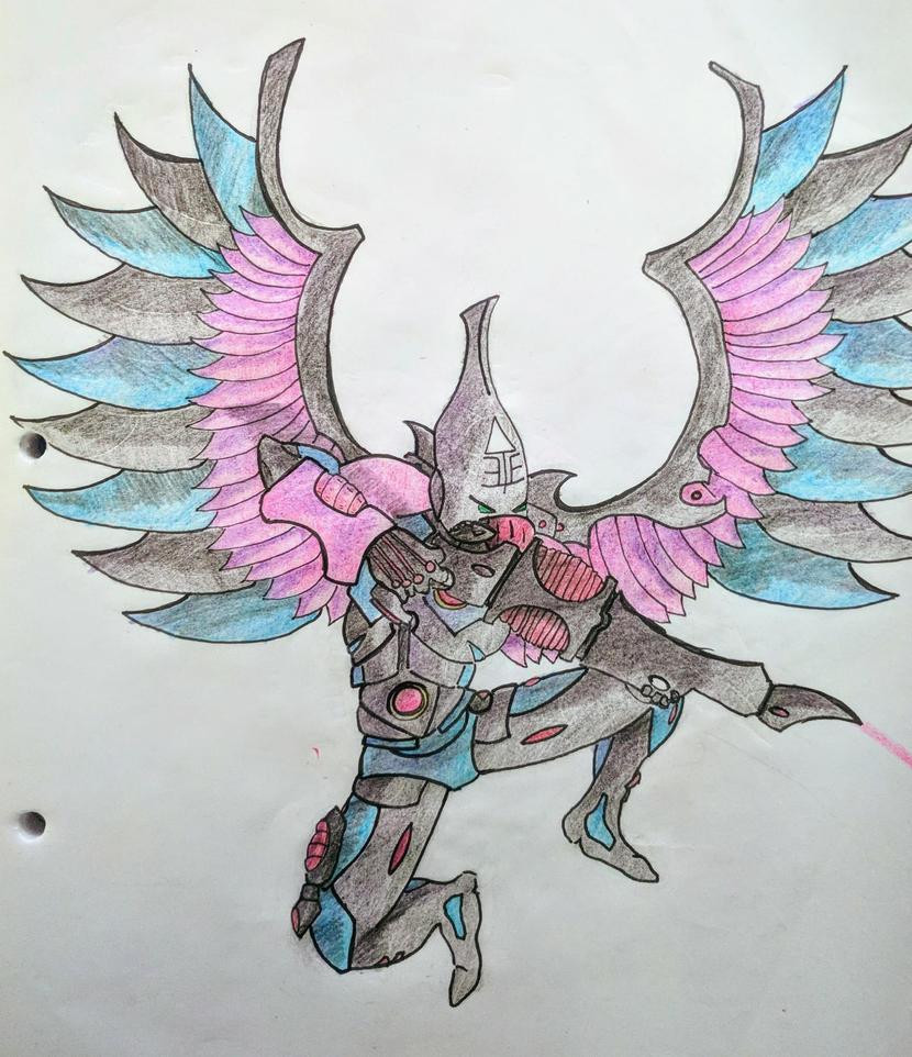 Kecak Inogat Swooping Hawk of Craftworld Ulthwe by Sergane