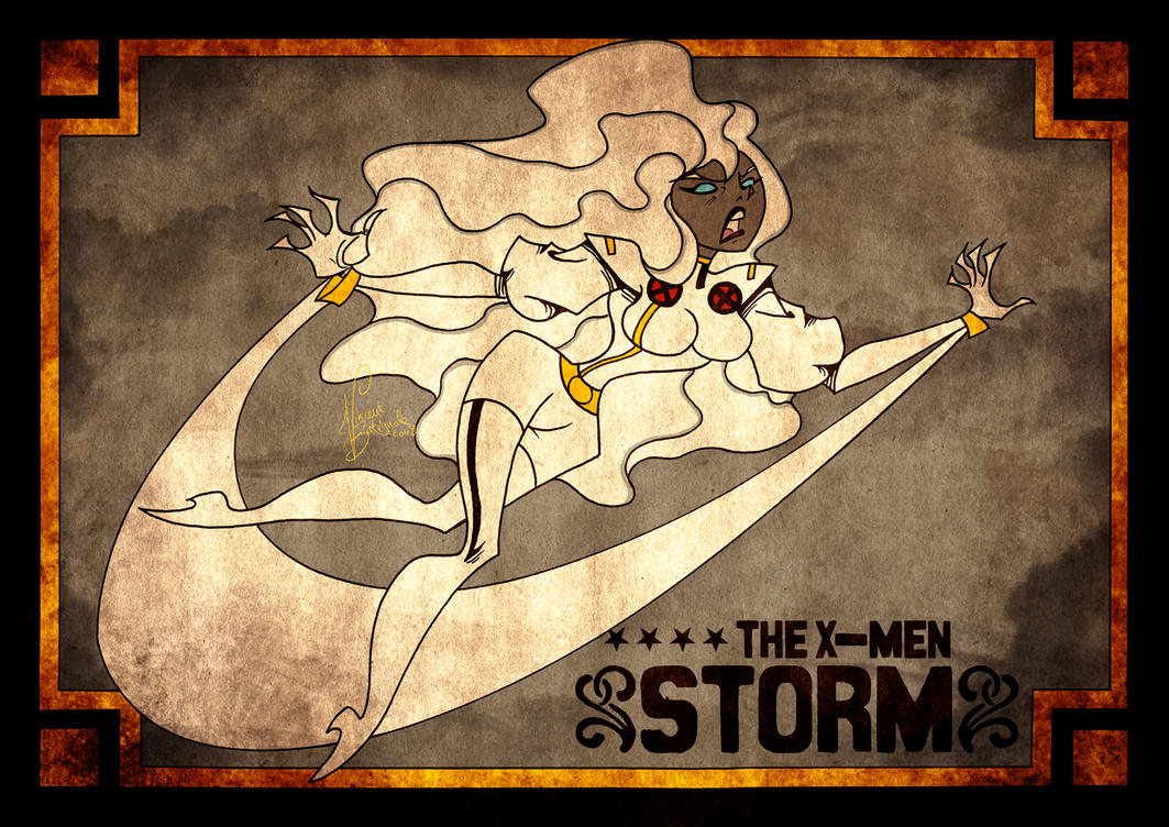 THE X-MEN - STORM by vincentbatignole