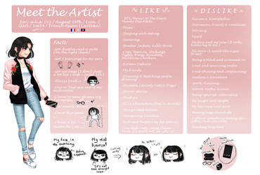 Meet The Artist Meme by CryLoLo