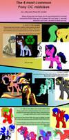 4 common problems with Pony OC's