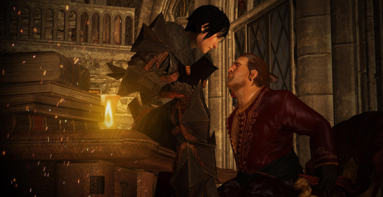 Dragon Age 2/Inquisition: Hawke x Varric (XPS) by JocundaCosplay