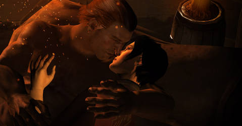 Dragon Age 2/Inquisition: Hawke x Varric by JocundaCosplay