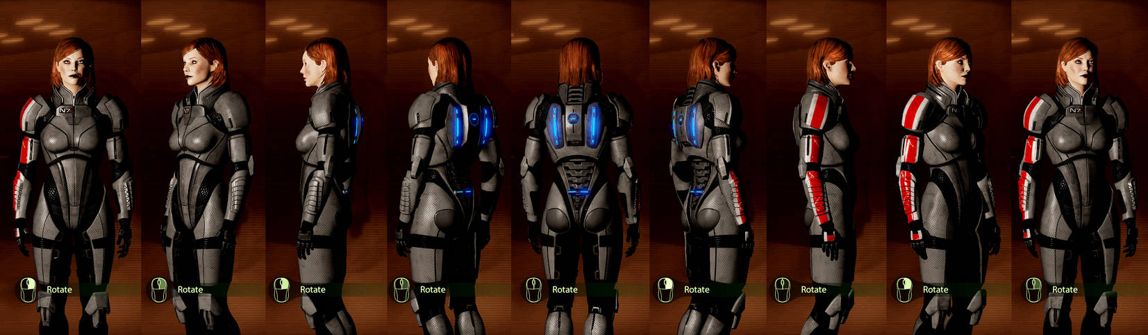 Mass Effect 2: Femshep Armor Reference by JocundaCosplay
